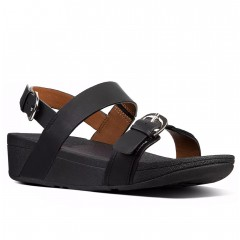 FitFlop W Edit Leather Back-Strap Sandal